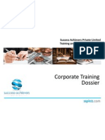 Corporate Training Dossier