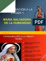 CONSAGRACIÓN VIRGEN MARIA