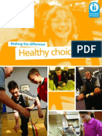 Parentzone Healthy choices