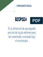EXAMENES COMPLEMENTARIOSclase postgrado 2 (PDF)