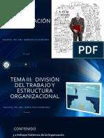 TEMA 3 DIVISIÓN TRABAJO Y ESTRUCTURA ORGANIZACIONAL_UNICEN DOCENTE ING. RUBEN PIZZO.pdf