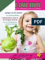 Chou rave Magazine N°4 – Manger cru en famille