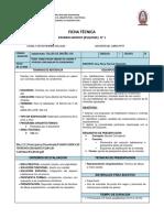 Ficha técnica Esquisse N° 1 percyzito