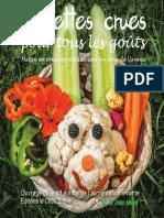 eBook Recettes Crues Pour Tous Les Gouts