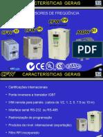 CFW caracteristicas