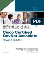 DevNet Associate DEVASC 200-901 Official Certification Guide by Adrian Iliesiu