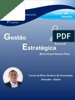 TRABALHO de GESTÃO ESTRATÉGICA Lucas Da Silva Ventura Da Conceicação (Turma GP-44 Salvador)