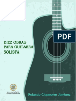 Diez obras para guitarra solista