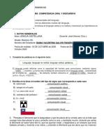 COMPETENCIA ORAL Y DISCURSIVA - DIANA GALVIS 10 C