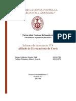 Informe 4 - Afilado de Herramienta de Corte (1)