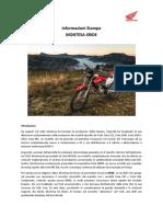 Montesa 4 Ride 2016 Cartella stampa