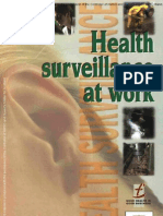 hsg61 - Health surveillance at work