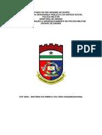 HISTÓRIA DA PMRN E CULTURA ORGANIZACIONAL (SÍNTESE DA HISTÓRIA DA PM) (1)