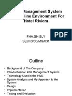 19244137 Online Hotel Management System