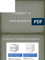 Chapter 4 Variables