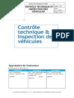 Contrôle technique et inspection des véhicules