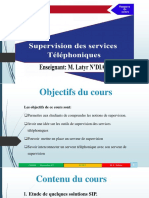 Supervision services telephoniques