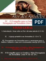 Atos dos apóstolos  - Aula 21 - EPGMP - A Igreja em Antioquia - Barnabé Saulo e Ágabo(Atos 11_19-30)