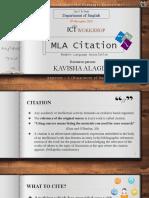Kavisha - Mla Citation