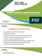 Habilidades comunicativas. Expresión escrita (1)
