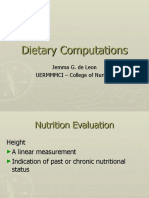 Dietary Computations (part 2) (1)