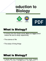 BIOL 3 Introduction to Biology