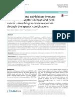 Costimulatory and coinhibitory immune