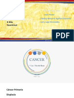 CANCER EXPOSICIÓN Y DIAPOSITIVAS