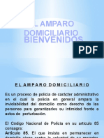 AMPARO DOMICILIARIO