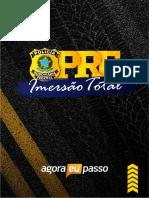 IMERSÃO PRF - MATERIAL