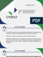 Resistencia y Ley de OHM parte 1 Con ejercicios resueltos.pptx