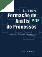 Guia para Formação de Analistas de Processos