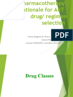 5. Pharmacotherapy Rationale for ART regimen selection.pptx