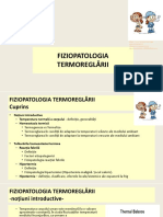 Curs - Fiziopatologia termoreglarii 2020-2021