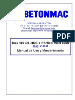 Parte I - MANUAL MECÁNICO - Dg. 2143-B