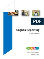 Cognos Basic Overview