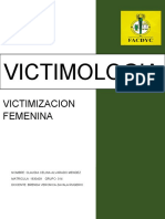 VICTIMIZACION FEMENINA