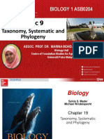 Chapter 9. Taxonomy, Systematic  Phylogeny_Student copy