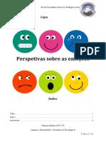 Perspetivas sobre as emoções