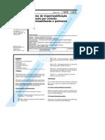 NBR 11905 - Sistema de impermeabilização Composto por cimento impermeabilizante e  polímeros