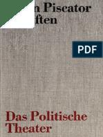 [Schriften 1] Erwin Piscator - Das politische Theater. Faksimiledruck der Erstausgabe 1929 (1968, Henschel) - libgen.lc.pdf