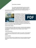 Características de Residuos Tóxicos y Peligrosos