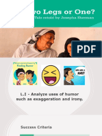 L2-Analyze Humor- Two Legs or One.pptx