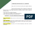 ROTEIRO GERAL DAS AULAS DO 3°BIMESTRE