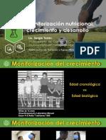 Monitorización nutricional, crecimiento y desarrollo