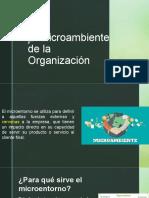 2.2 El Microambiente de la compañia