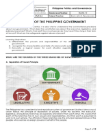 PPG Module 9 - Branches of the Government