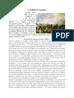 La bataille du Guadalete