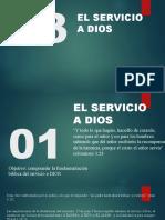 D3 servicio al señor