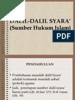 Dalil Dalil Syara' (Ok)